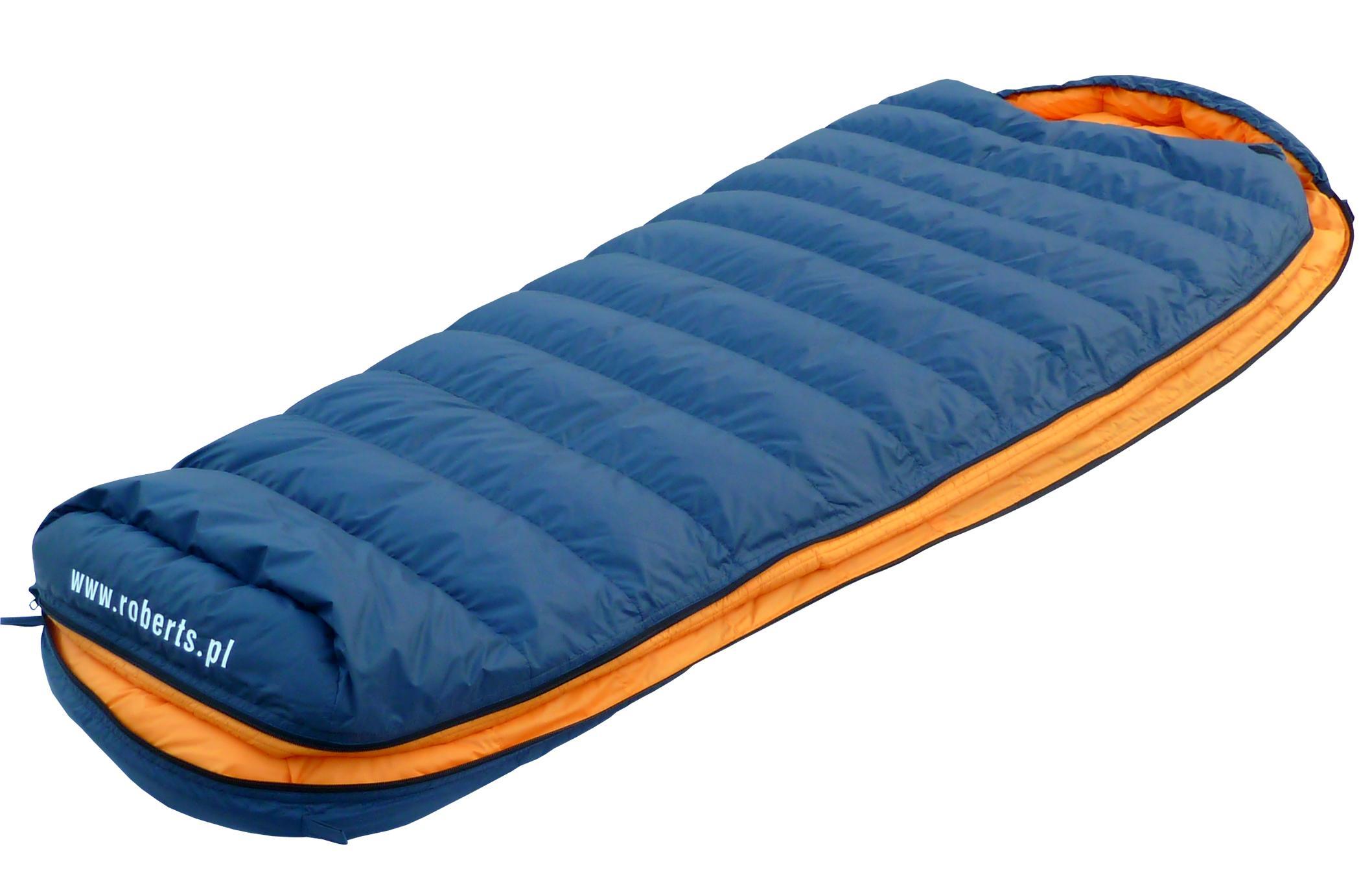 Down sleeping bag CAMPER